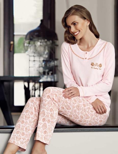 Şahinler - Şahinler Desenli Pijama Takımı MBP23107-1