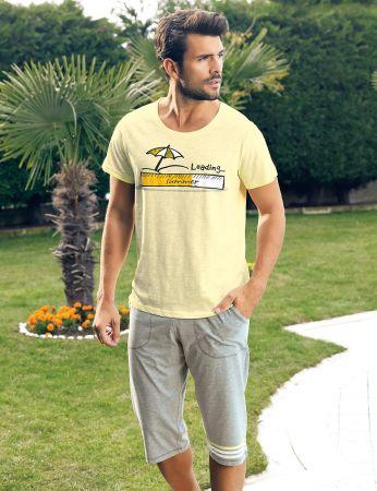 Şahinler - Şahinler Erkek Kapri Takım Sarı MEP24215-1