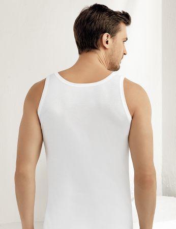 Şahinler Erkek Modal Atlet Beyaz ME128