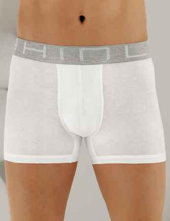Şahinler Erkek Modal Boxer Beyaz ME131 - Thumbnail