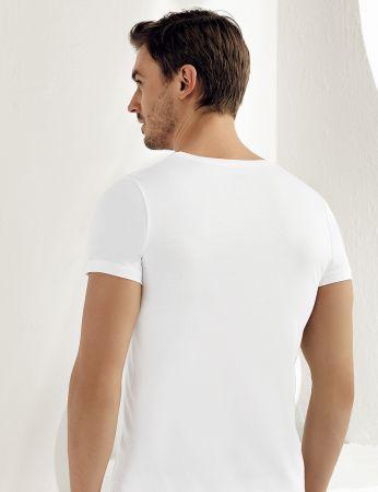 Şahinler - Şahinler Erkek Modal Kısakol Atlet Beyaz ME129 (1)