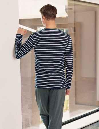 Şahinler - Şahinler Erkek Pijama Takımı Laci Beyaz MEP23803-1 (1)
