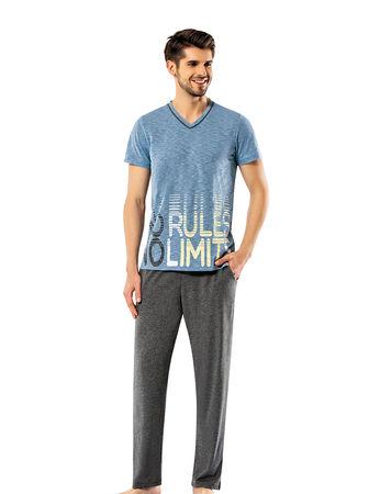 Şahinler - Sahinler Men Pajama Set MEP24914-1