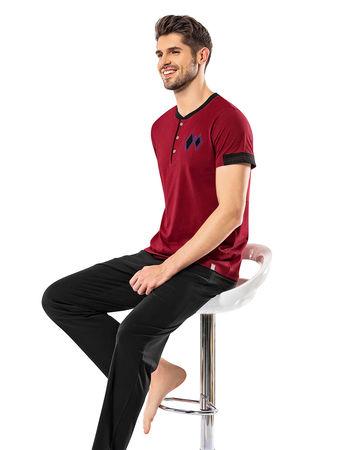 Şahinler - Sahinler Men Pajama Set MEP24916-2