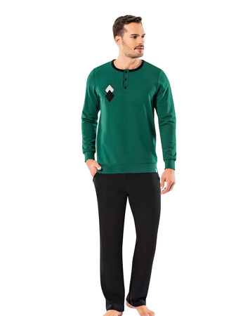 Şahinler - Şahinler Erkek Pijama Takımı MEP25053-1