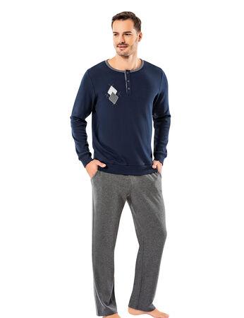 Şahinler - Şahinler Erkek Pijama Takımı MEP25053-3