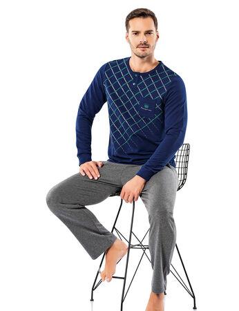 Şahinler - Şahinler Erkek Pijama Takımı MEP25054-2