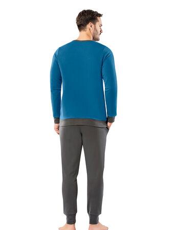 Şahinler - Şahinler Erkek Pijama Takımı MEP25055-3 (1)