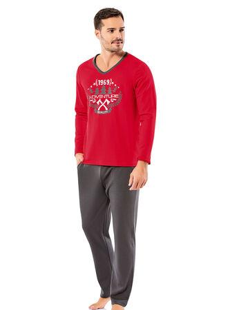 Şahinler - Şahinler Erkek Pijama Takımı MEP25057-1