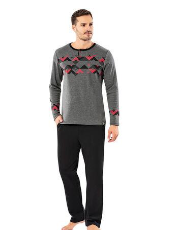 Şahinler Erkek Pijama Takımı MEP25062-2