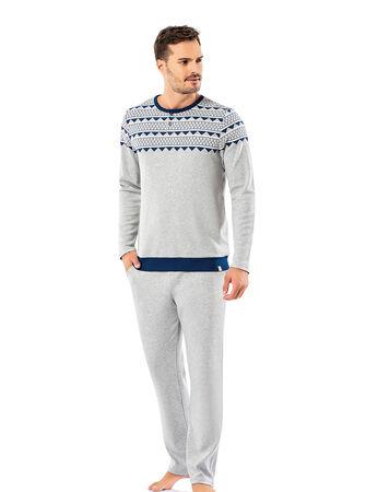 Şahinler - Şahinler Erkek Pijama Takımı MEP25065-1