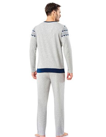 Şahinler - Şahinler Erkek Pijama Takımı MEP25065-1 (1)