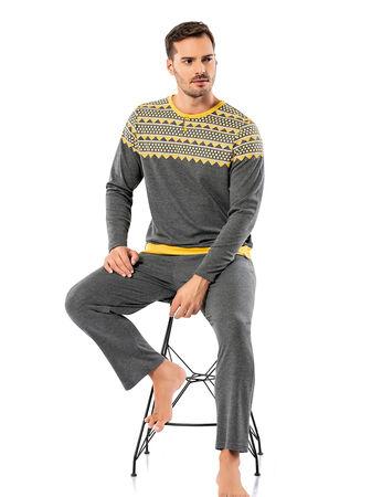 Şahinler - Şahinler Erkek Pijama Takımı MEP25065-2