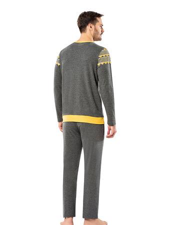 Şahinler - Şahinler Erkek Pijama Takımı MEP25065-2 (1)