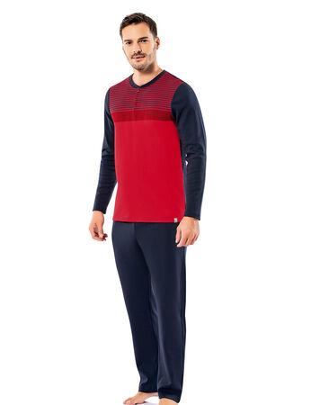 Şahinler - Şahinler Erkek Pijama Takımı MEP25066-2