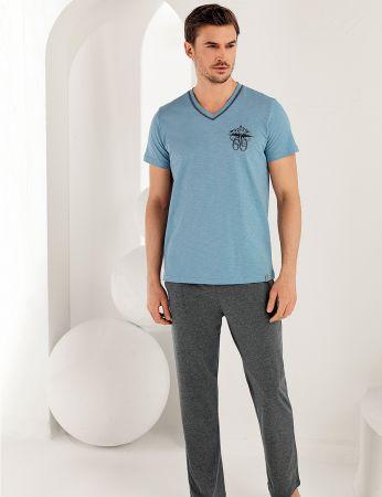 Şahinler Erkek Pijama Takımı MEP25168-1