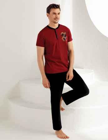 Şahinler Erkek Pijama Takımı MEP25170-1 - Thumbnail