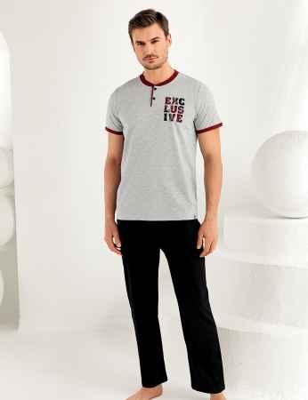 Şahinler Erkek Pijama Takımı MEP25171-1 - Thumbnail