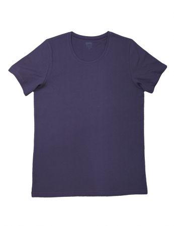 Şahinler - Şahinler Erkek T-Shirt Mor D-39
