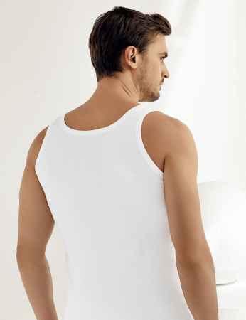 Şahinler - Şahinler Geniş Askılı Ribana Atlet Beyaz ME020 (1)