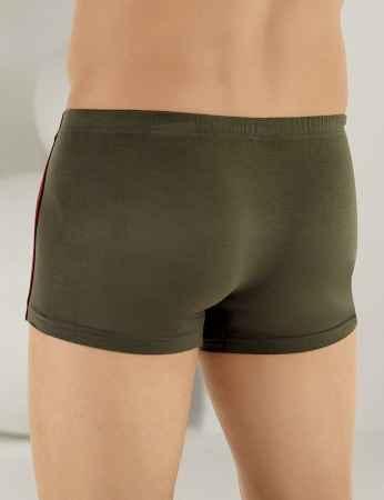 Şahinler - Sahinler Herren Lycra Modal Boxer-Short Khaki ME124 (1)