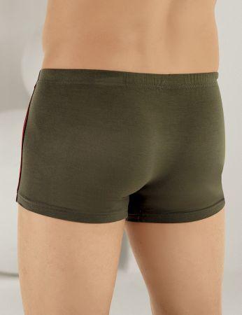 Sahinler Herren Lycra Modal Boxer-Short Khaki ME124