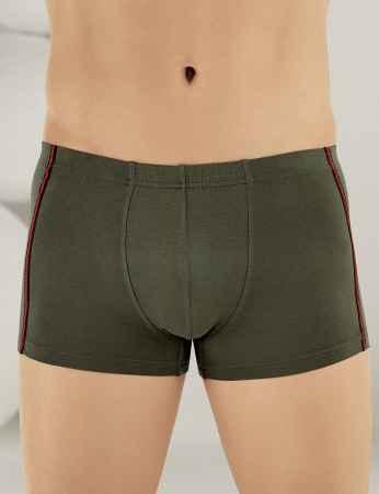 Sahinler Herren Lycra Modal Boxer-Short Khaki ME124 - Thumbnail