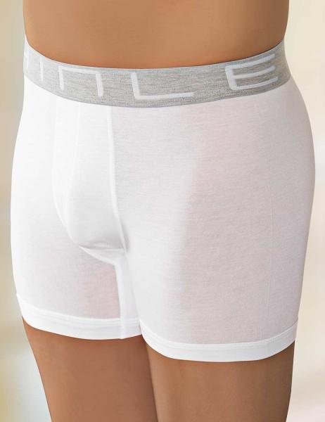 Sahinler Herren Lycra Modal Boxer-Short Weiß ME127