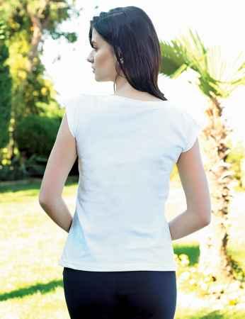 Şahinler Kadın Kapri Takım Beyaz MBP24024-1 - Thumbnail