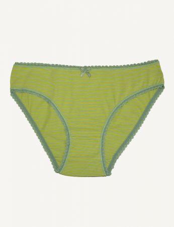 Şahinler - Şahinler Kadın Külot Mint Sarı İnce D-3071