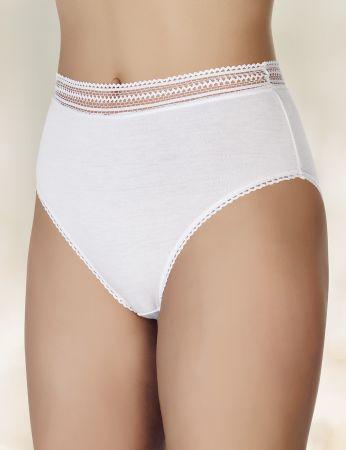 Şahinler - Şahinler Kadın Külot Modal Külot Beyaz D-3047