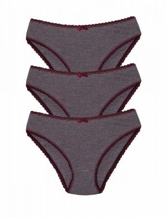 Şahinler - Şahinler Kadın Külot Üç lü Set MB3069-GR-MR