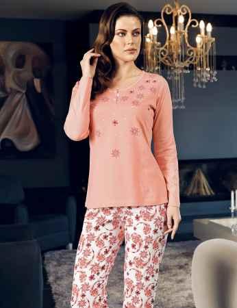 Şahinler Kadın Pijama MBP24111-1 - Thumbnail