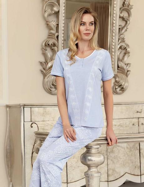 Şahinler - Şahinler Kadın Pijama Takımı Lila MBP23421-1
