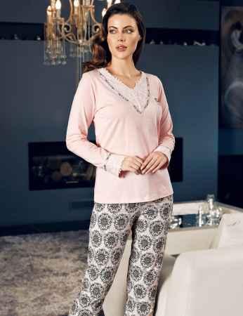 Şahinler Kadın Pijama Takımı MBP24136-1 - Thumbnail