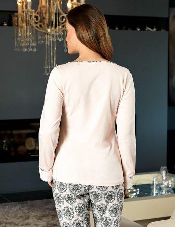 Şahinler - Şahinler Kadın Pijama Takımı MBP24136-1 (1)