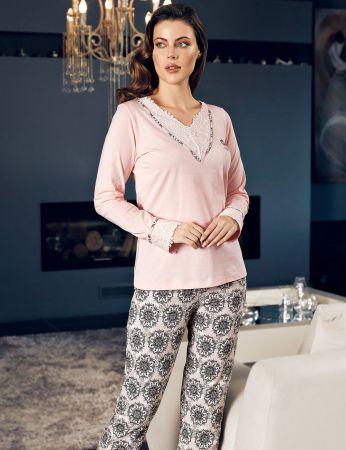 Şahinler - Şahinler Kadın Pijama Takımı MBP24136-1