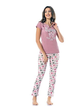 Şahinler - Sahinler Schlafanzüge Set für Damen MBP24811-1