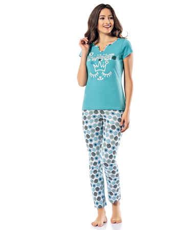 Şahinler Kadın Pijama Takımı MBP24811-2 - Thumbnail