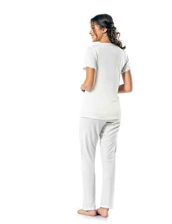 Şahinler Kadın Pijama Takımı MBP24812-1 - Thumbnail