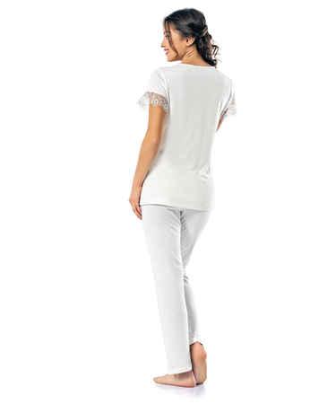 Şahinler Kadın Pijama Takımı MBP24813-1 - Thumbnail