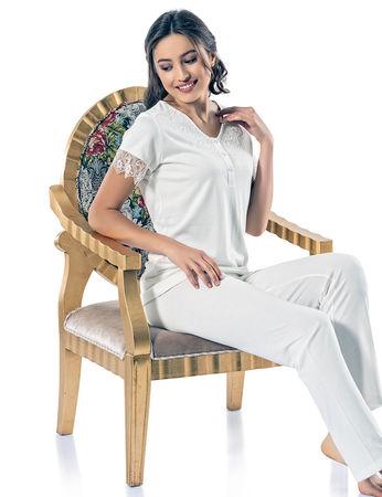 Şahinler - Sahinler Schlafanzüge Set für Damen MBP24813-1