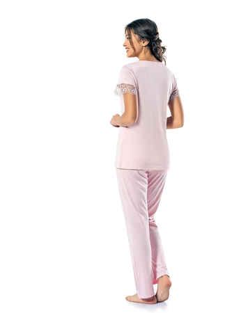Şahinler Kadın Pijama Takımı MBP24813-2 - Thumbnail