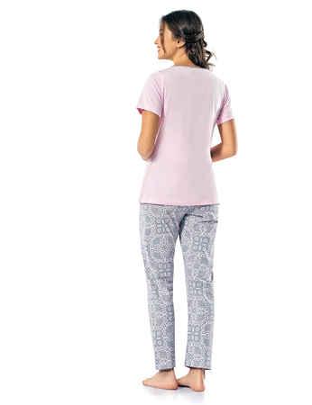 Şahinler Kadın Pijama Takımı MBP24816-1 - Thumbnail