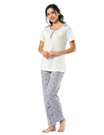 Şahinler - Sahinler Women Pajama Set MBP24817-1