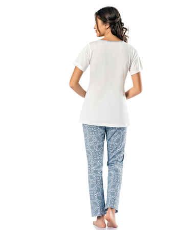 Şahinler Kadın Pijama Takımı MBP24817-2 - Thumbnail