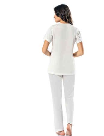 Şahinler Kadın Pijama Takımı MBP24818-1 - Thumbnail