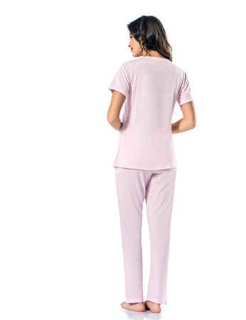 Şahinler Kadın Pijama Takımı MBP24818-2 - Thumbnail