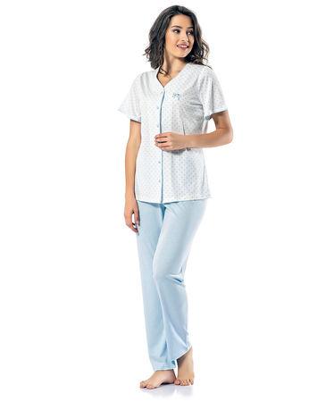 Şahinler - Sahinler Schlafanzüge Set für Damen MBP24820-2