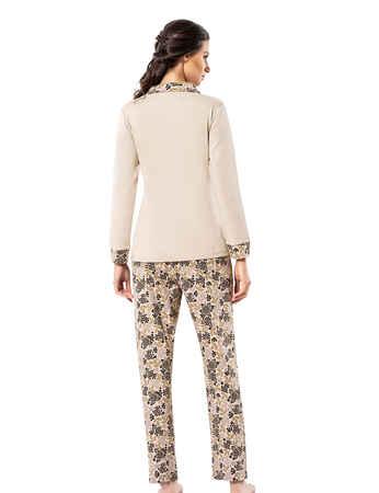 Şahinler Kadın Pijama Takımı MBP25001-1 - Thumbnail